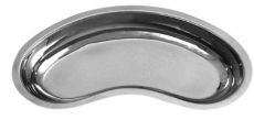 "Kidney Bowl Basin Emesis Tray 6"" Rounded Edges, 18/8 Stainless Steel, FDA Approved (786-1148-6r)"